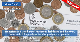Tax residency & Covid. travel restrictions, lockdowns and the HMRC