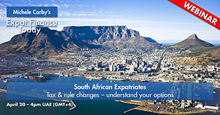 Financial Planning for South African Expatriates – Q2 2021