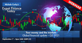 Your money and the markets – Global financial update – Q3 2021
